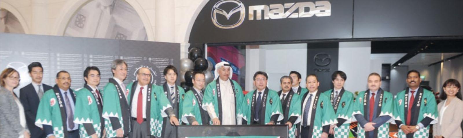KAICO ( Al Shaya & Al Sagar ) opened the first of its kind Mazda Boutique showroom in AVENUES