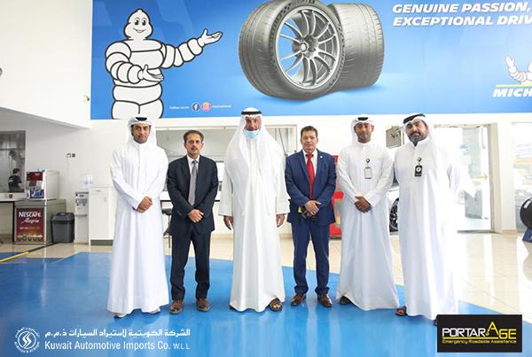 Michelin & Portarage Partnership